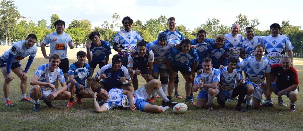 Lanna Lions Rugby Club v Payap Rugby Club. Chiang Mai 28th November 2020